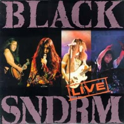 Black Syndrome - Live cover art