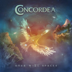 Concordea - Over Wide Spaces cover art