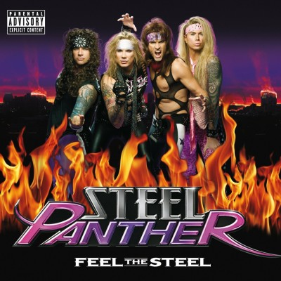 Steel Panther - Feel the Steel cover art