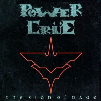 Powercrue - The Sign of Rage cover art