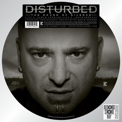 Disturbed - The Sound of Silence cover art