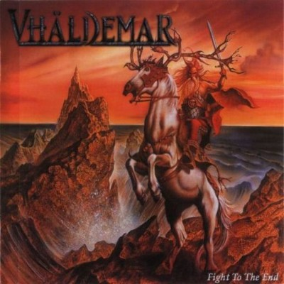 Vhaldemar - Fight to the End cover art