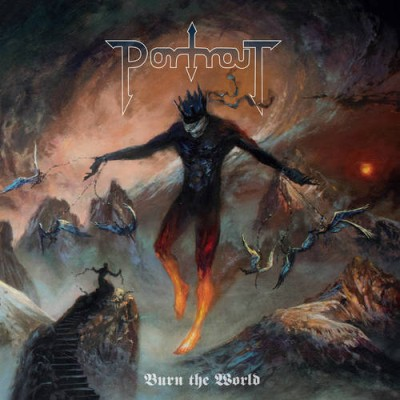 Portrait - Burn the World cover art