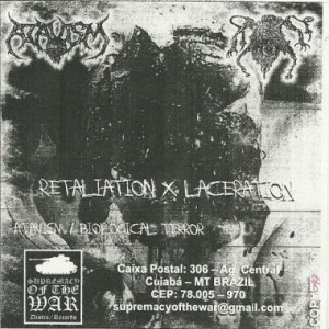 Atavism - Retaliation X Laceration cover art