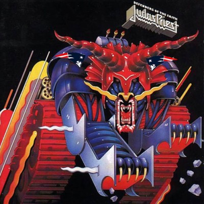 Judas Priest - Defenders of the Faith cover art