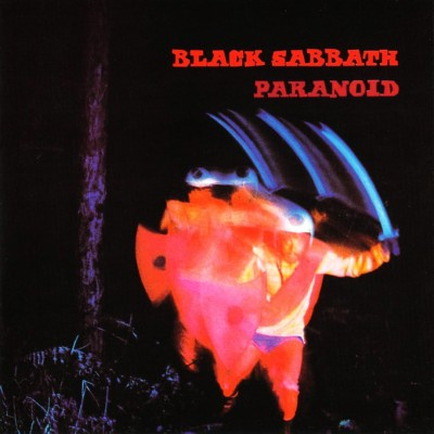 Black Sabbath - Paranoid cover art
