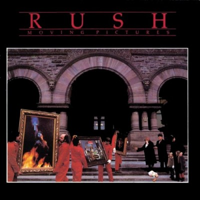 Rush - Moving Pictures cover art
