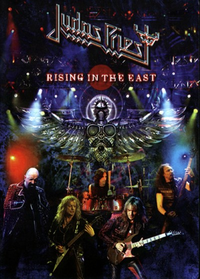 Judas Priest - Rising in the East cover art