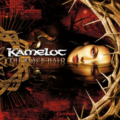 Kamelot - The Black Halo cover art