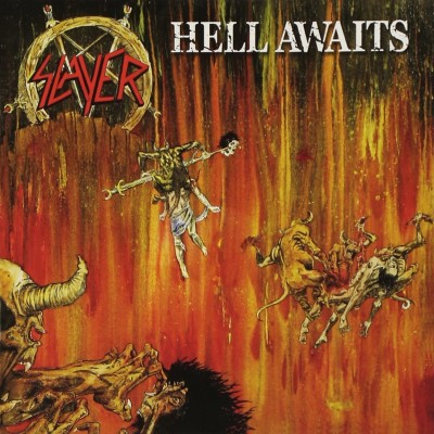 Slayer - Hell Awaits cover art