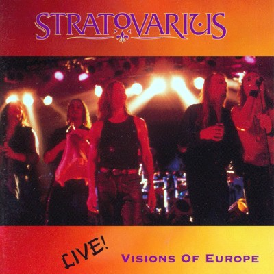 Stratovarius - Visions of Europe cover art