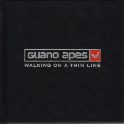 Guano Apes - Walking on a Thin Line cover art