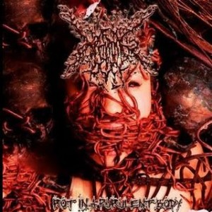 Nasty Pig Dick - Rot in a Purulent Body cover art