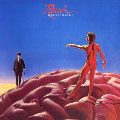 Rush - Hemispheres cover art