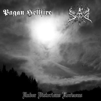 Pagan Hellfire / Sad - Under Victorious Horizons cover art