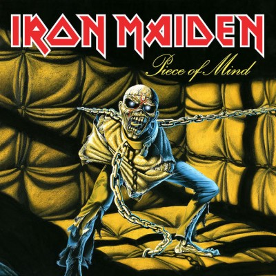 Iron Maiden - Piece of Mind cover art