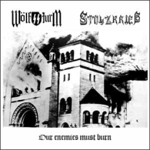 Stolzkrieg - Our Enemies Must Burn cover art