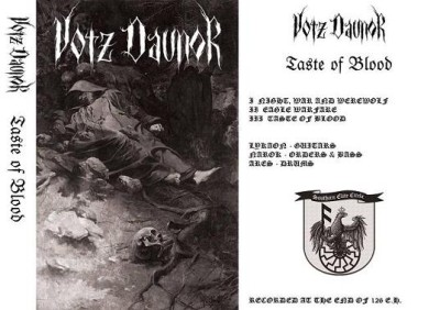 Votz Daunor - Taste of Blood cover art