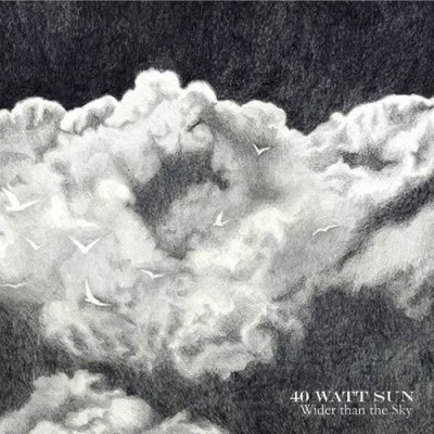 40 Watt Sun - Wider than the Sky cover art
