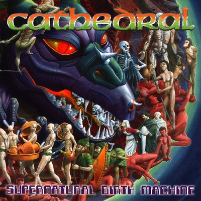 Cathedral - Supernatural Birth Machine cover art