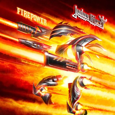 Judas Priest - Firepower cover art