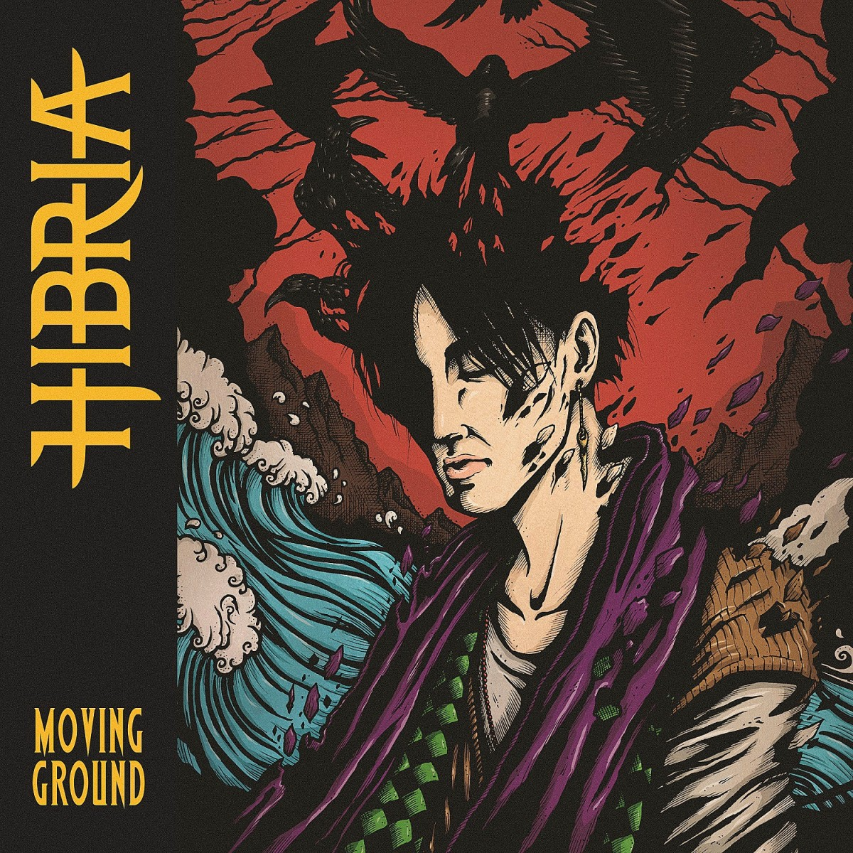 Hibria - Moving Ground cover art