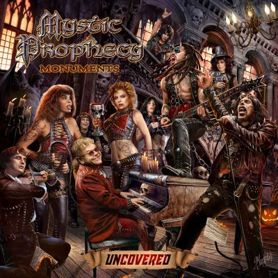 Mystic Prophecy - Monuments Uncovered cover art