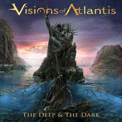 Visions of Atlantis - The Deep & the Dark cover art