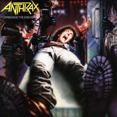 Anthrax - Spreading the Disease cover art