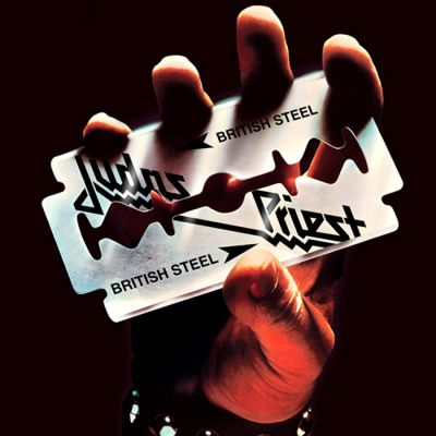 Judas Priest - British Steel cover art