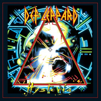 Def Leppard - Hysteria cover art