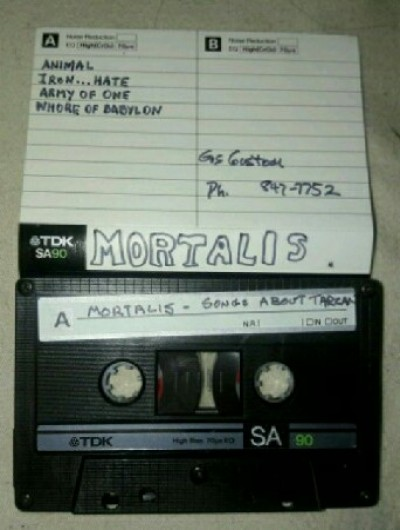 Mortalis - Songs About Tarzan cover art