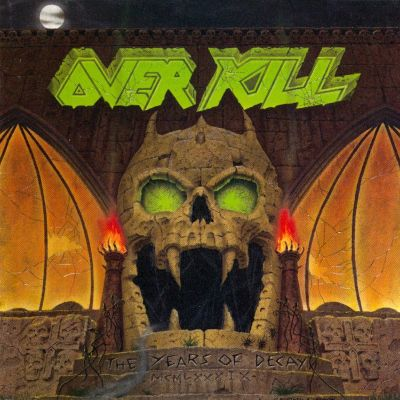 Overkill - The Years of Decay cover art
