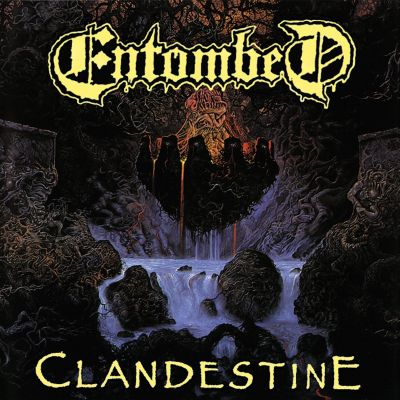 Entombed - Clandestine cover art