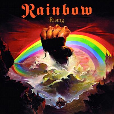 Rainbow - Rising cover art
