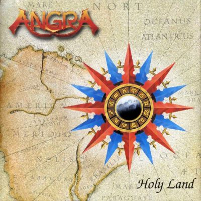 Angra - Holy Land cover art