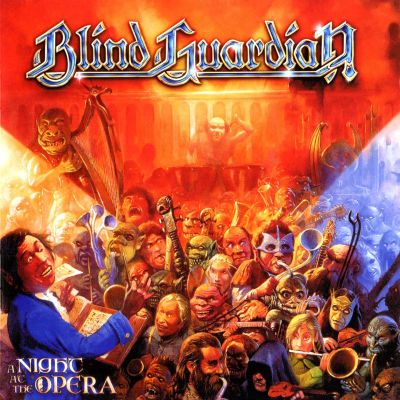 Blind Guardian - A Night at the Opera cover art