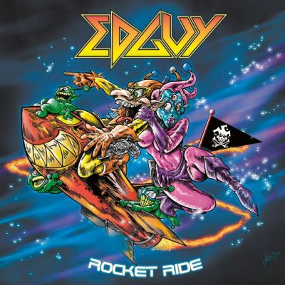 Edguy - Rocket Ride cover art