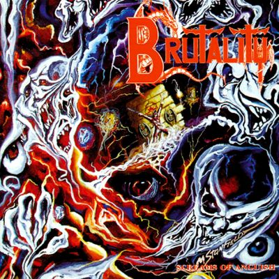 Brutality - Screams of Anguish cover art