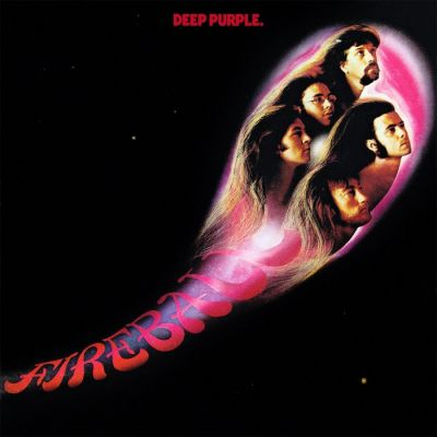 Deep Purple - Fireball cover art