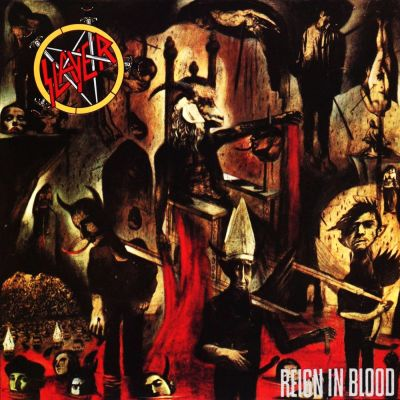 Slayer - Reign in Blood cover art