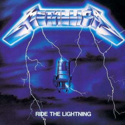 Metallica - Ride the Lightning cover art