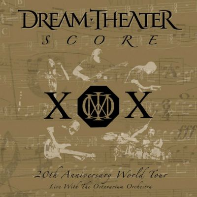 Dream Theater - Score cover art