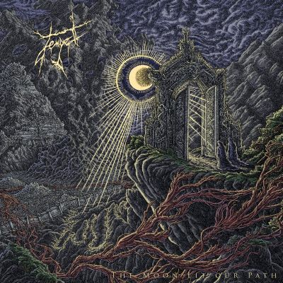 Tempel - The Moon Lit Our Path cover art