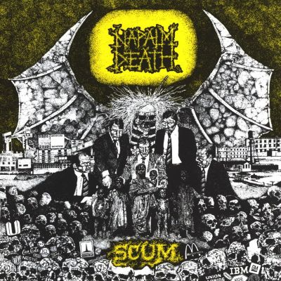 Napalm Death - Scum cover art