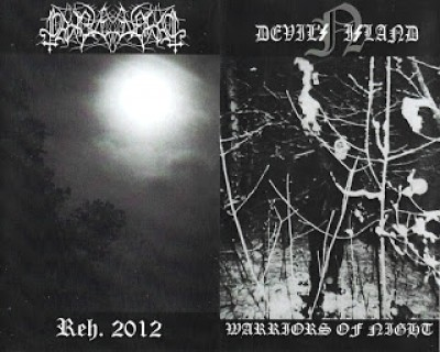 Begravelsesnatt / Devil's Island - Warriors of Night / Reh. 2012