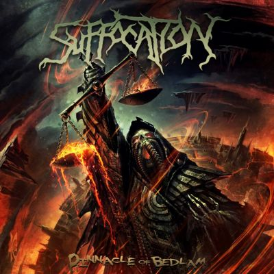 Suffocation - Pinnacle of Bedlam cover art