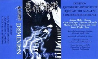 Blasphemer - Dominion