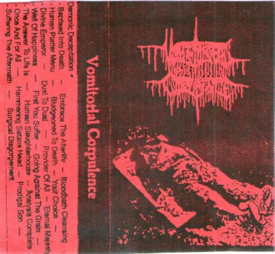 Vomitorial Corpulence - Karrionic Hacktician