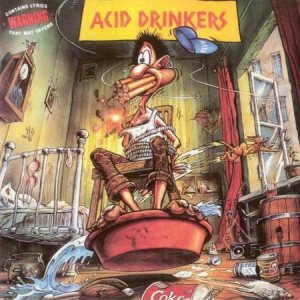 Acid Drinkers - Are You Rebel? cover art